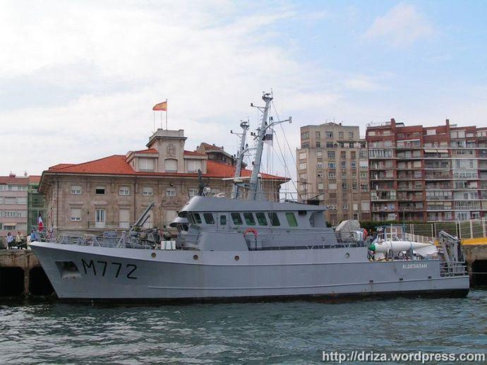 Aldebaran y Antares. La Armada Francesa tuvo representación y la Española no. De vergüenza.