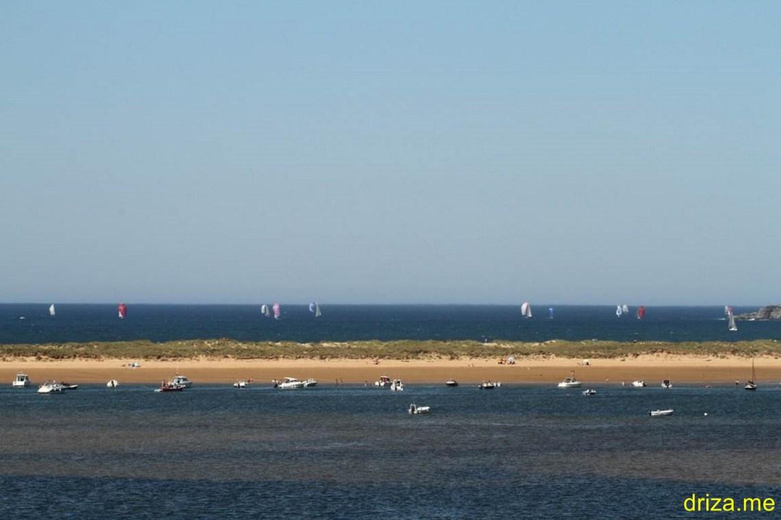 Dominando el viento del NE1/4N en torno a los 10 nudos