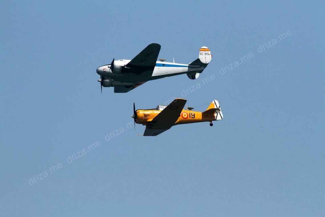 Fundación Infante de Orleans con el Beechcraft C-45 H de la FIO del año 1942