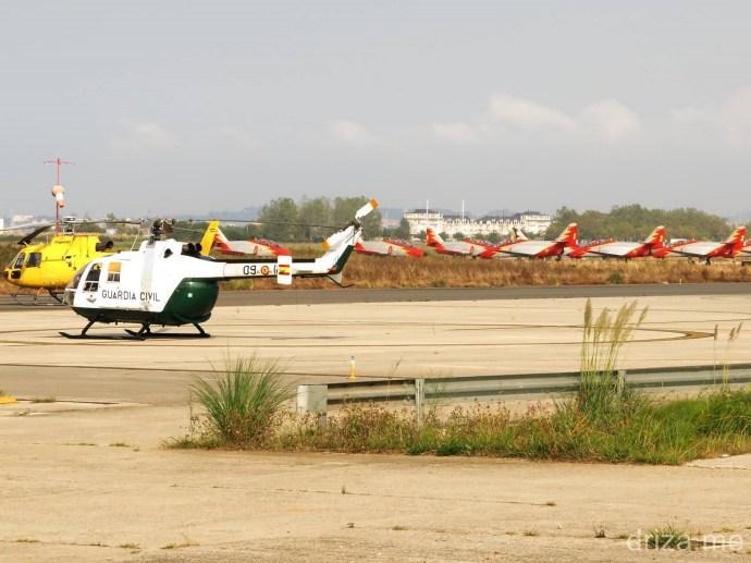 CUCO 124J junto a los C101 de la Patrulla Águila (Foto: Carlos)